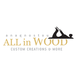 All in Wood logo